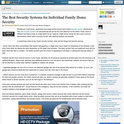 The Best Security Systems for Individual Family Home Security by Choicecycle Sgcctv