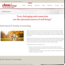 Individual & Family Counseling in Allen, McKinney, Plano, Prosper TX