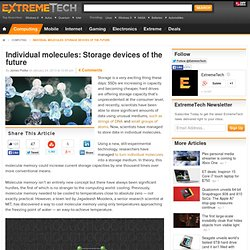 molecules storage