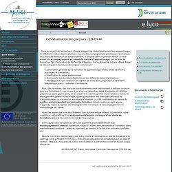 Lycée Professionnel Michelet - Nantes - Individualisation des parcours : CFA EN 44