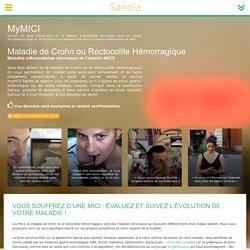 myMICI Service en ligne d'Auto-suivi et de Mesure Individualisé : Sanoïa