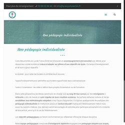 Une pédagogie individualisée - www.lyceeyunusemre.fr