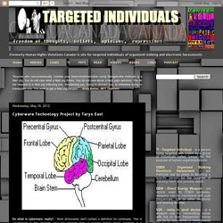 Targeted Individuals Canada: Cyberware Technology Project by Taryn East