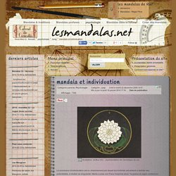 mandala et individuation - jung - lesmandalas