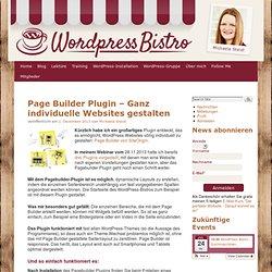 Page Builder Plugin – Ganz individuelle Websites gestalten › WordPress-Bistro