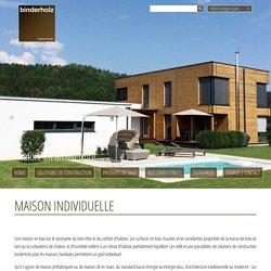 Maison individuelle - Binderholz GmbH - Holzindustrie - Fügen, Zillertal
