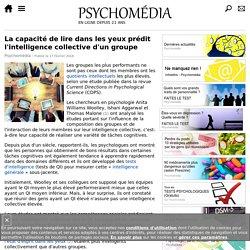 Une capacité individuelle qui prédit l'intelligence collective d'un groupe