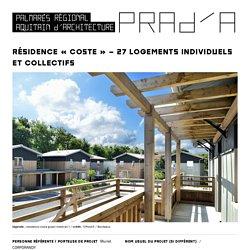 Résidence «Coste» – 27 logements individuels et collectifs