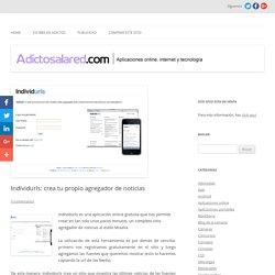 Individurls: crea tu propio agregador de noticias