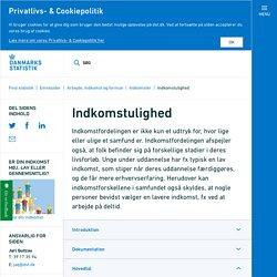Indkomstulighed - Danmarks Statistik