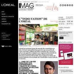 """L'""""indo-vation"""" de L'Oréal"""