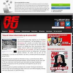 REVU: 10okt2013 'Stop de linkse indoctrinatie op de universiteit' - Nieuwe Revu