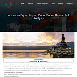 Indonesia Export Import Data- Market Research & Analysis