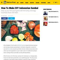 How To Make DIY Indonesian Sambal