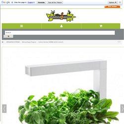 Potager d'intérieur HERBIE blanc 6 plantes TREGREN 119€90 - Culture Indoor
