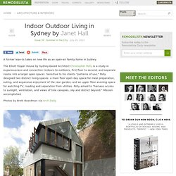 Indoor Outdoor Living in Sydney: Remodelista