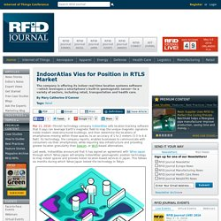 IndoorAtlas Vies for Position in RTLS Market