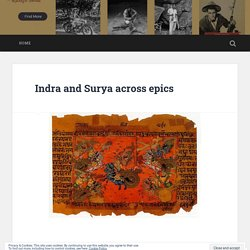 Indra and Surya across epics – Best Book Publishing house in Mumbai