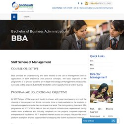 Select Top Ranking BBA College in Indraprastha University