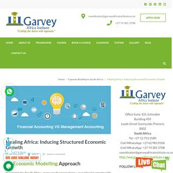 Healing Africa: Inducing Structured Economic Growth