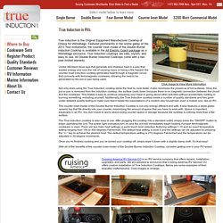 Induction Cooktops by True Induction