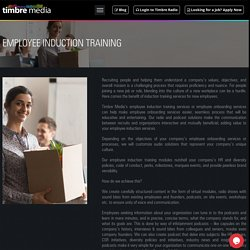 Induction Training Services for New Employees
