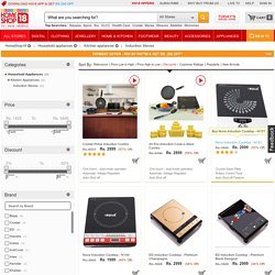 Buy Induction stoves at Homeshop18