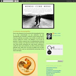 MUNDO·CINE·MUDO: La industria cinematográfica