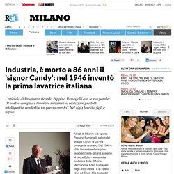 Industria, è morto a 86 anni il 'signor Candy': nel 1946 inventò la prima lavatrice italiana