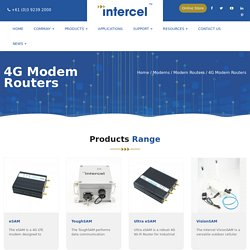 Industrial 4G LTE Modem Routers