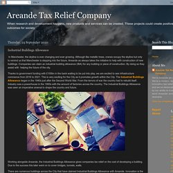 Areande Tax Relief Company: Industrial Buildings Allowance