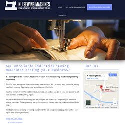 Get New Sewing Machines in Scotland 18 Oct 16