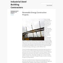 Industrial Steel Building Contractors
