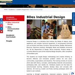 BDes Industrial Design - Department of Design