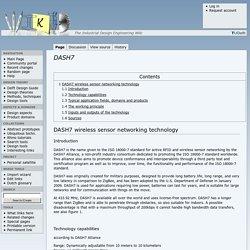 DASH7 - WikID, the Industrial Design Engineering wiki