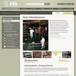 Industry - Te Ara