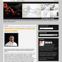 Entrevista al Diseñador Industrial Ignacio Urbina