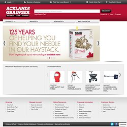 Industrial Supplies, Safety Supplies, Fasteners, Industriel, Securite, Fixations - Acklands-Grainger