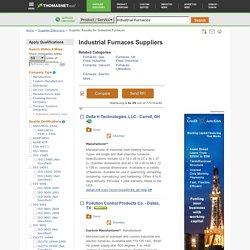 Industrial Furnaces on ThomasNet.com