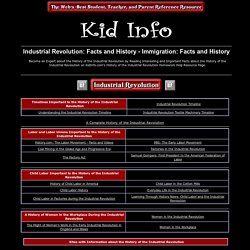 Industrial Revolution: Facts and History - Immigration: Facts and History