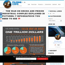 The War on Drugs and Prison Industrial Complex Explained in Pictures: 7 Infog...