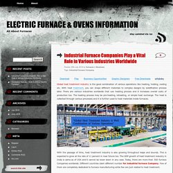 Overview of the global industrial furnace companies