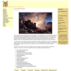The Open Door Web Site : History : The Industrial Revolution : Introduction