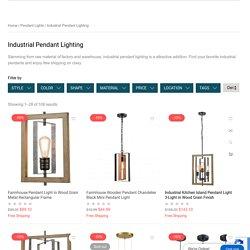 Modern Industrial Pendant Lighting Solutions