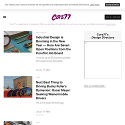 Core77 / industrial design magazine + resource / home