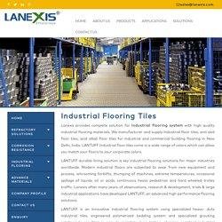 Industrial flooring tiles, Industrial floor tiles manufacturer, supplier, India