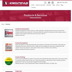 Toronto Custom Nameplates, Screen Printing, Engraving, Labels, Decals, Digital Printing
