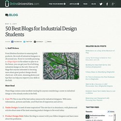 50 Best Blogs for Industrial Design Students