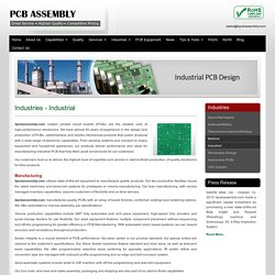 Industrial PCB Prototype Manufacturer - 4PCBAssembly