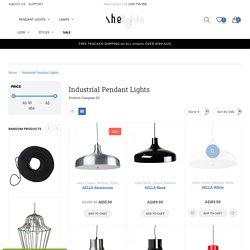 Industrial Pendant Lights in AU